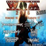 WOM Fest - locandina 2016 - 2016