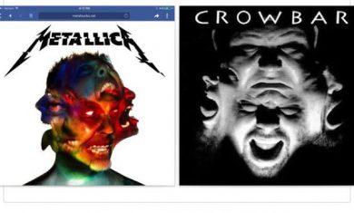 crowbar metallica - copertina somiglianze - 2016
