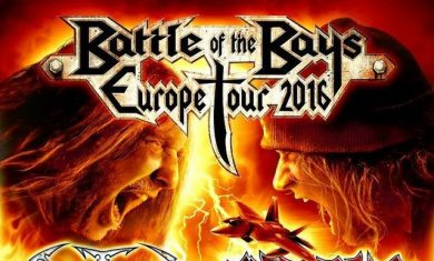 exodus obituary - tour 2016