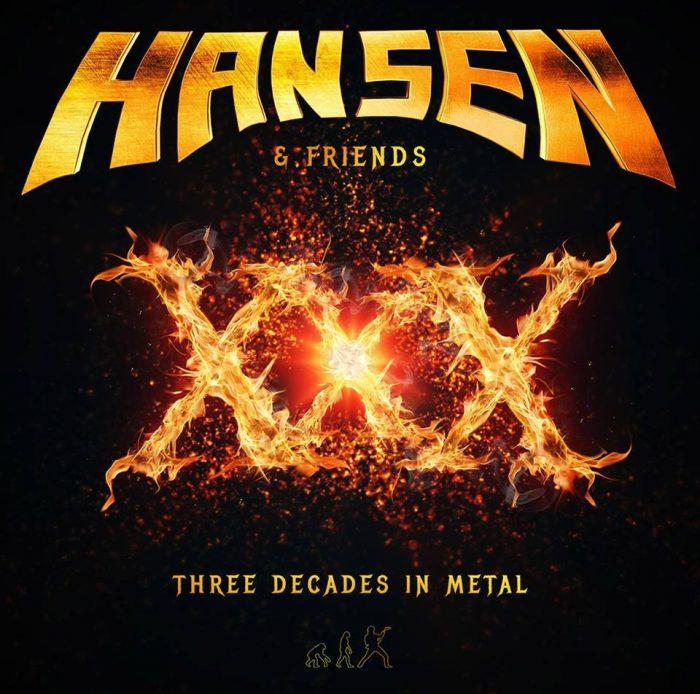 hansen & friends - three decades in metal - 2016