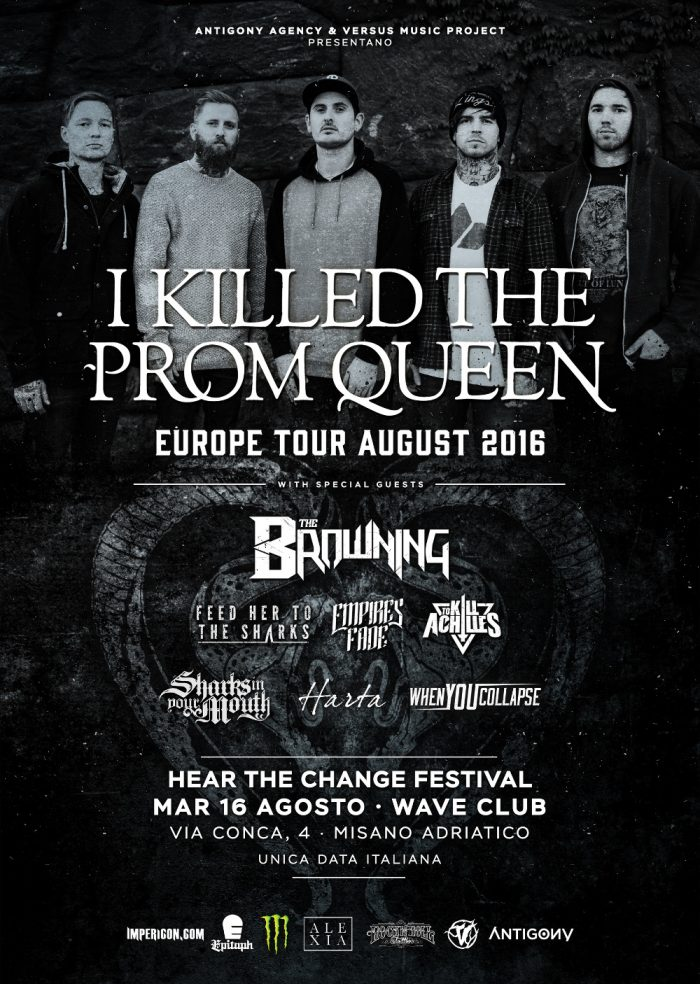 i killed the prom queen - locandina misano 2016