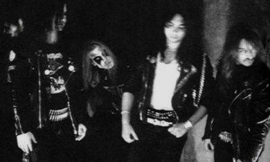 mayhem - lineup 1990