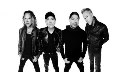 metallica - band - 2016