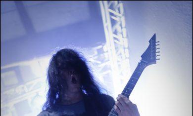 morbid angel - trey azagtoth live bologna 2014