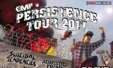 persistence tour 2017 - secondo aggiornamento