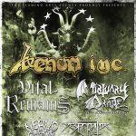 venom inc - tour 2016