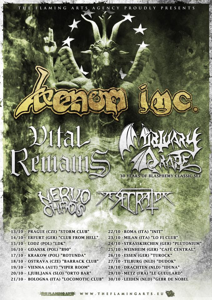 venom inc - tour 2016
