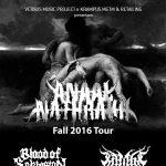 ANAAL NATHRAKH - Bologna - 2016