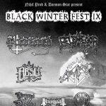 Black Winter Fest - flyer edizione 2016 - 2016