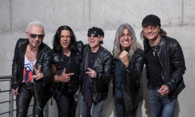 Scorpions - band - 2016