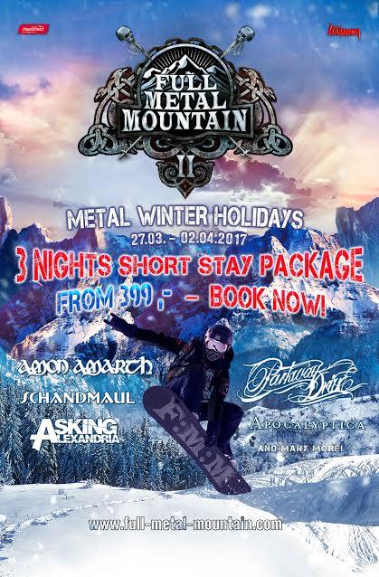 Full metal mountain 2017 disponibili anche pacchetti di for Tre giorni per il giardino 2017