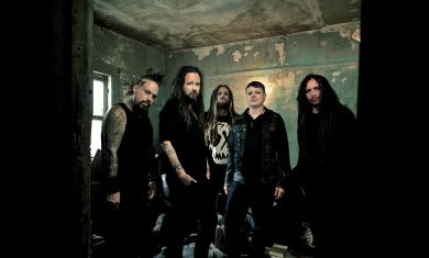 korn - band by dean karr - 2016