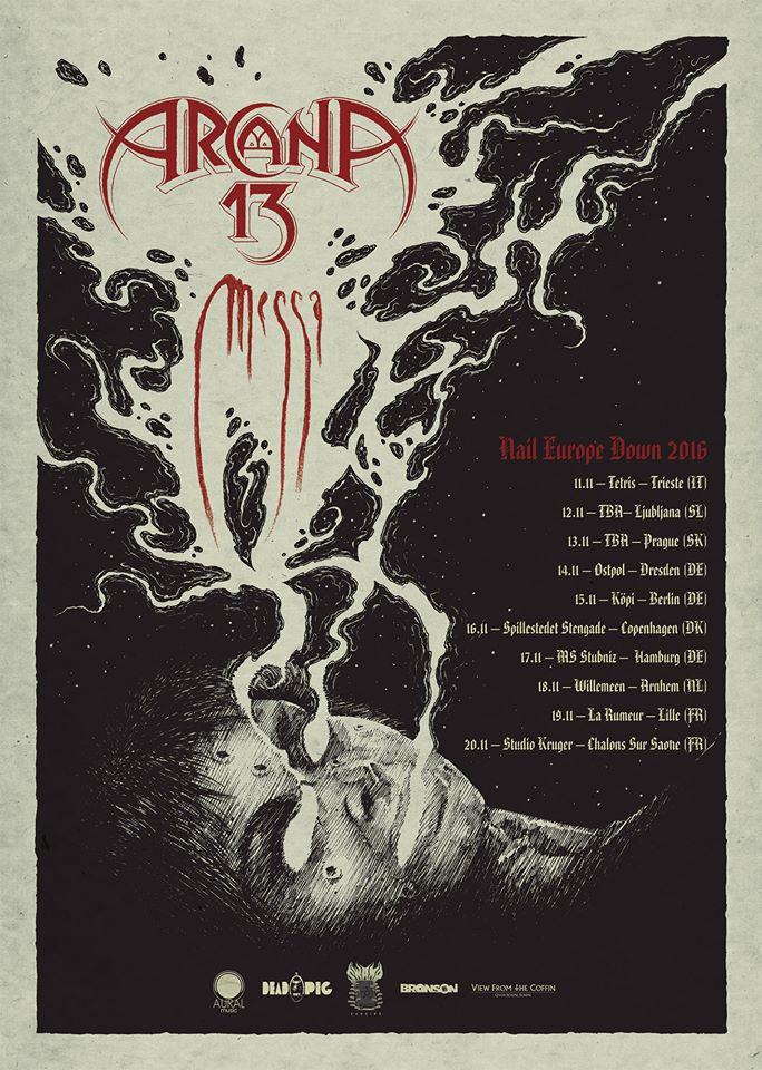 arcana-13-messa-tour-2016
