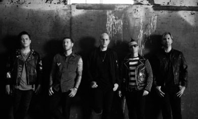 avenged sevenfold - band - 2016