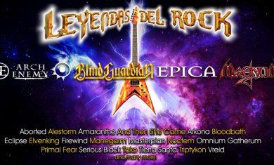 leyendas del rock festival 2017