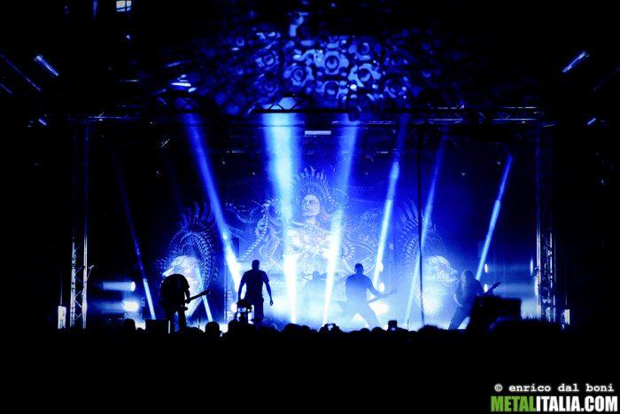 Artista: Meshuggah | Fotografo: Enrico Dal Boni | Data: 02 dicembre 2016 | Venue: Estragon | Città: Bologna