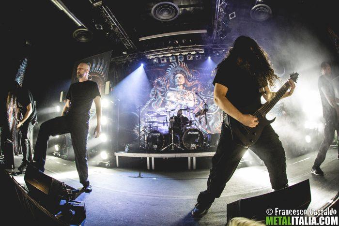 Artista: Meshuggah | Fotografo: Francesco Castaldo | Data: 3 dicembre 2016 | Venue: Alcatraz | Città: Milano