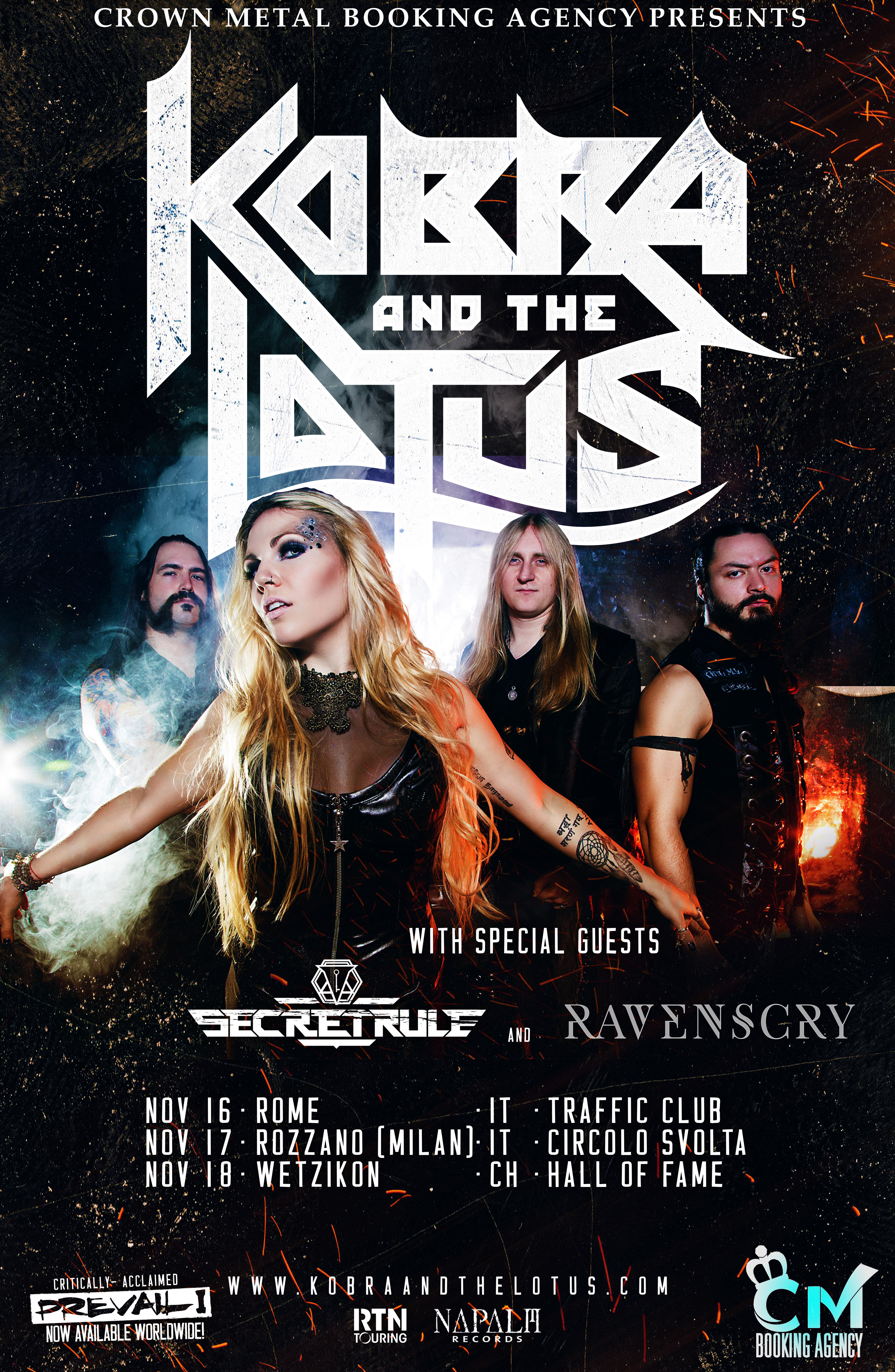 Kobra And The Lotus Tour