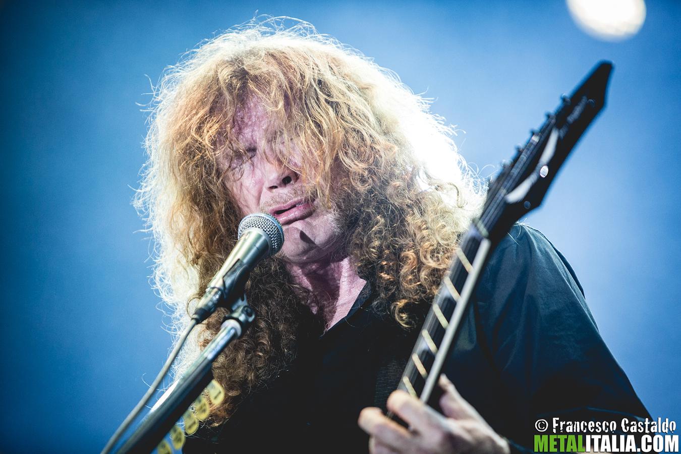 MEGADETH: problemi di salute per Dave Mustaine