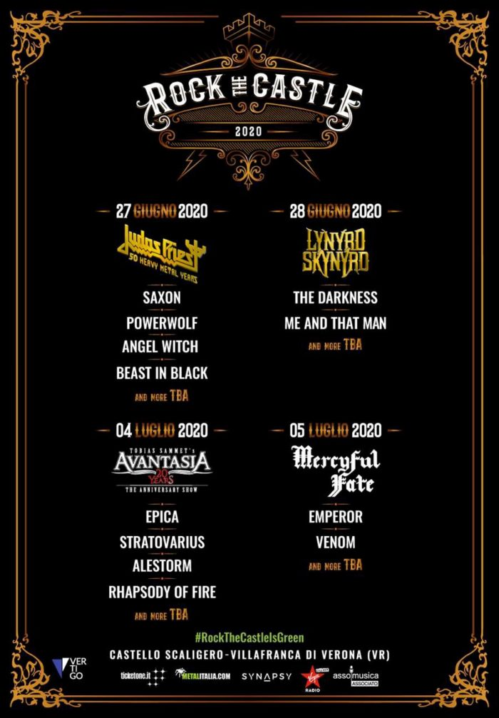 ROCK FEST 2020 CANCELADO KISS, LYNYRD, JUDAS, UFO, A.Amarth,Nightwish - Página 5 Rock-the-castle-2020-prima-locandina-700x1007