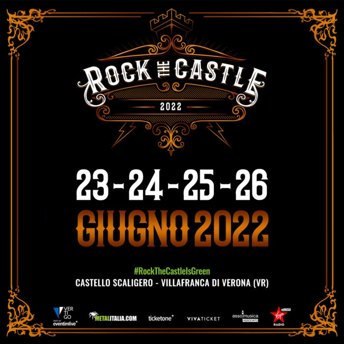 ROCK THE CASTLE 2022: le date del festival!